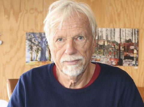 Ny krim: Forfatter Jan Mehlum har skrevet en ny bok om Svend Foyn. Foto: Svein Lundby