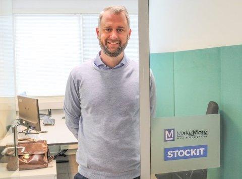 SATSER: Bård Kalbakk har allerede god suksess med selskapene Stockit AS og Make More AS. Nå står han som styreleder bak det nyetablerte Bolier Buddy AS.
