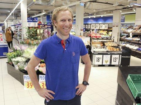 Stridsklevgutt: Kristian Skogen skal drive den første Rema 1000-butikken på Stridsklev. Skogen er selv oppvokst i bydelen, og gleder seg til å komme i gang våren 2020.