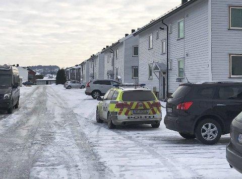 TILFELDIG: 39-åringens oppbevaring av sprengstoff ble oppdaget februar 2018, i forbindelse med at politiet rykket ut til melding om husbråk ved boligen på Vallermyrene.