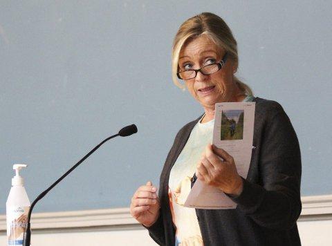 PÅDRIVER: Nina Lund i Fagforbundet har gjentatte ganger tatt opp deltidsproblemet, men lite har skjedd.
