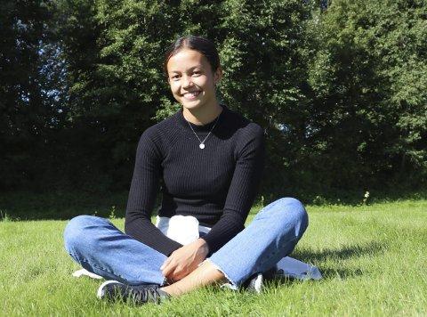 Til NM: Lisa Stensøy er en av de lokale utøverne som er med.