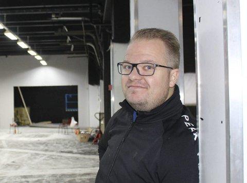 GÅRDEIER: Tarjei Christiansen eier Heistad Marked AS sammen med Bård Stranheim. Etter «litt utfordringer» med kommunen roser partene nå hverandre og er enige om prosess framover.