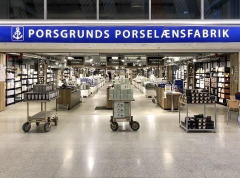 PP-svindel: Daglig leder for Porsgrunds Porselænsfabrik, Cathinka Sundling påpeker at man aldri skal oppgi sensitive opplysninger når man blir kontaktet på nettet, slik som er tilfelle her.