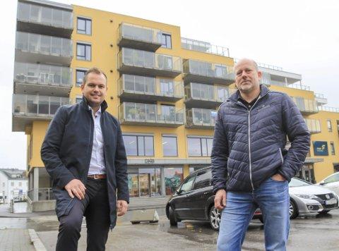 STADIG BEDRE: Frederic Kristoffersen (t.v.) i Pancom AS, her sammen med Jon Yngve Gurholt, teknisk leder i Bratsberg Gruppen AS.