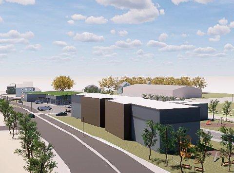 UTBYGGING: Utbygger ønsker en fleksibel reguleringsplan, men kommunen setter grenser for hvor fleksibelt det skal være. Uten nye boliger, ingen ny matbutikk.