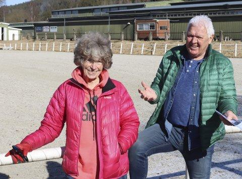 Blir med i kampen: Ellen Ditlefsen og Porsgrunn Senior Høyre kaster seg inn sammen med Gunnar West Sørlie. De vil bygge en seniorlandsby i Vallermyrene leir.