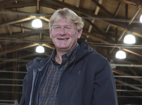 Gleder seg veldig: PU-sjef Skule Wærstad gleder seg veldig til den nye rundkjøringa på Moheim kommer på plass, selv om det kommunale eiendomsselskapet må gi fra seg mye areal til rundkjøringa.