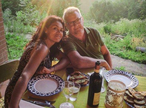 MOT KLOKKA: Bjarne og Gabriela hadde 48 timer på seg til å kjøre ned til Italia, etter at de hadde tatt test i Norge. Paret forteller at de brukte 12 timer fra Tyskland til Italia, hvor de skal være fram til oktober. Bildet er tatt tidligere, før koronapandemien.