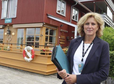 Stor interesse: Marianne Hem Sætre i DNB Eiendom la ut denne boligen på Osebakken sent tirsdag kveld. Tidlig torsdag morgen hadde nesten tre tusen vært inne Finn.no og sett på prospektet. Første visning er torsdag i neste uke.