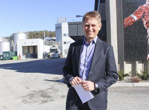 MILLIARDRESULTAT: Bjørnar Gulliksen, administrerende direktør i Isola, kan smile etter at årsregnskapet for 2020 foreligger.