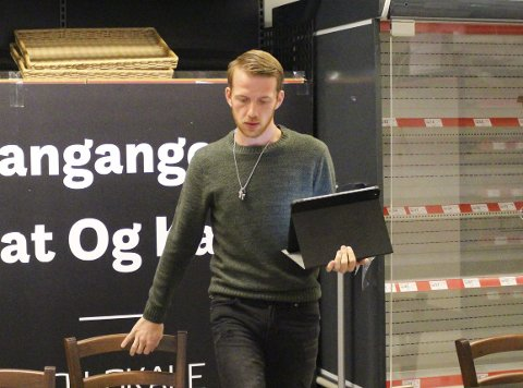 Anmeldt: Didrik Gunnestad er anmeldt av bostyrer Sindre G. Marqvardsen for en rekke forhold etter konkursen i Langangen Mat & Kafé AS.