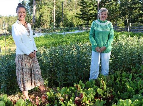 Lokalmat: Ida Marie Ruud Stemmedalen i Rakkestad Næringsråd og Anne Kristin Syverstad i Rakkestad og Degernes Bondelag arrangerer samlinger for dem som ønsker å satse på lokalmatproduksjon.
