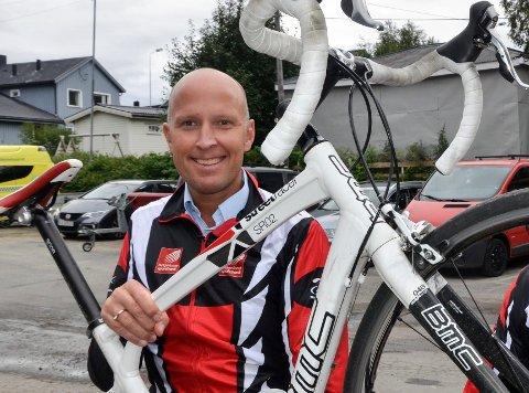 Nybakt verdensmester Frode Thomassen.