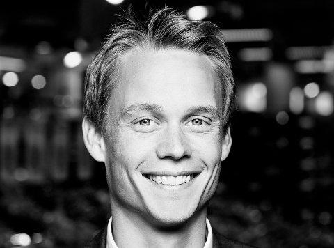 Ny sjef: Bjørnar Mickelson (35) tilsatt som informasjonssjef i SpareBank 1 Østlandet.