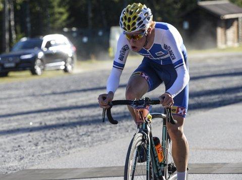 TRE TIL VM: Andreas Leknessund er en av tre syklister fra Ringerike Sykkelklubb og Team Ringeriks-Kraft som er tatt ut til VM i Qatar i oktober.