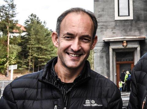 ANSATT: Alexander Ytteborg er ny direktør for Buskerudmuseet.