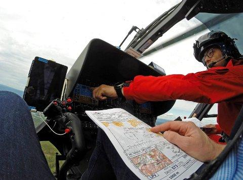 NLA benytter teknologien i helikoptrene fullt ut, men GPS-jammere utgjør en trussel for  ambulanseflygningen.