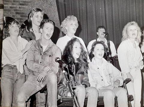 Rocketeatret Sterke Saker kjempet mot narkotika på 80-tallet. Nå er sangene relansert på Spotify.