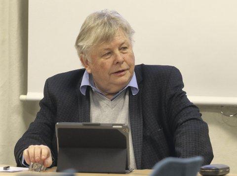 Leder: Karl Einar Haslestad (Ap) er leder for hovedutvalg for helse, omsorg og velferd i Holmestrand kommune. FOTO: Pål Nordby