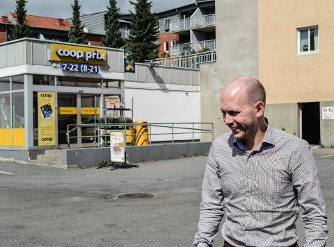 SELGER IGJEN: Eiendomssjef Espen Halvorsen Nipe i GN Power har bestemt seg for å fradele Borgegården, og legge den ut for salg.