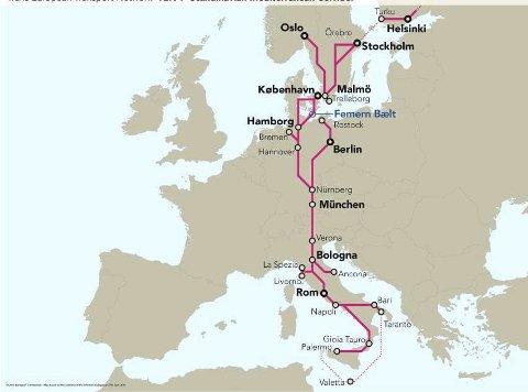 Tor Langvik-Hansen og Åge Langeland vil ha en jernbane i Østfold som knytter regionen til Europa på en effektiv måte.