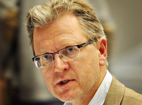 Erik Unaas (H) leder Kommuneplanutvalget som har levert forslaget til visjon for Indre Østfold kommune.