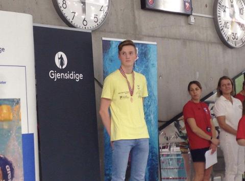 Det ble medalje på Jørund Kalvenes Drengstig under junior-NM/UM.