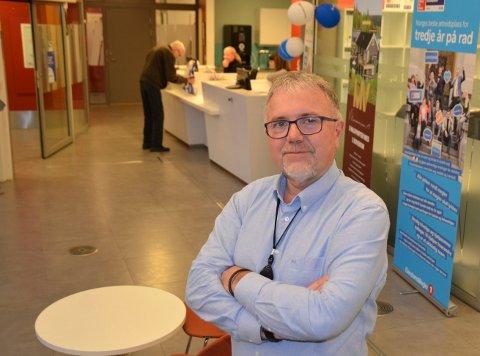 Gunnar Thorsen topper skatteliste blant politikere og administrasjon i Steinkjer kommune. Thorsen var banksjef fram til høsten 2019.