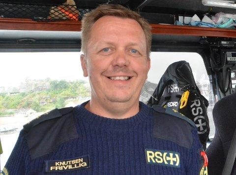 Gard Ask Knutsen er operativ leder ved redningsskøyta i Kragerø.. Arkivfoto: Per Eckholdt