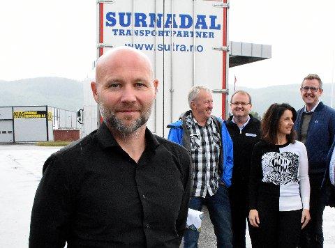 STORKONTRAKT: Daglig leder Atle Norli i Surnadal Transport er veldig fornøyd med at selskapet har fått en kontrakt med Skanska om transport av masse når utbedringene av dammene i Folldalen nå starter.
