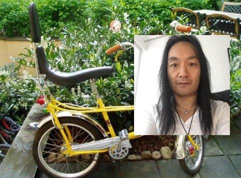 KLASSISKER: Simon Evtun tar godt vare på sine gamle sykler.