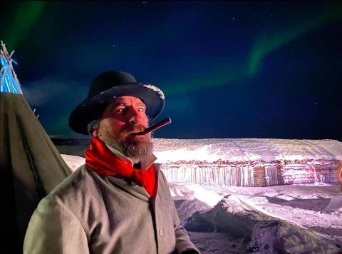 EVENTYRLIG: En sjelden eventyrlig opplevelse, er oppsummeringen fra Paul Ottar Haga, som har vært i Kautokeino siden 18. januar.