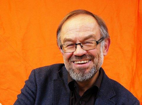 Leiar i Noregs Mållag, Magne Aasbrenn, gler seg over medlemsauke og medlemsrekord.
