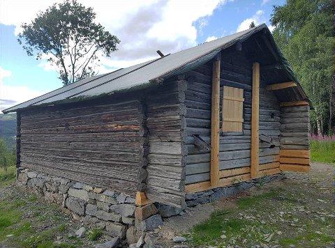 Badstua på Noraker gård, etter restaurering.