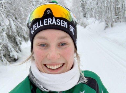 TILBAKE: Thea Sørum kan igjen trene og konkurrere for fullt. Gjelleråsen IF-jenta er av de som har fått norgescuppoeng under NM.