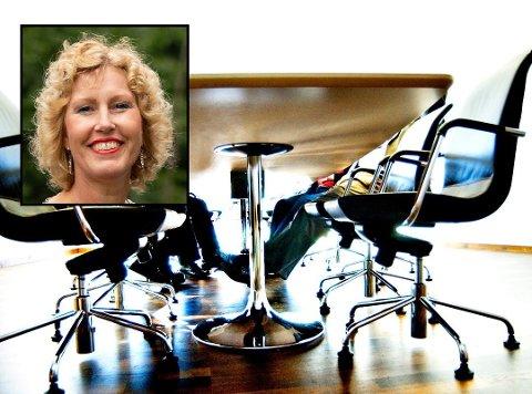 BEDRING: Regiondirektør i NHO, Kristin Saga, ser flere positive tendenser i næringslivet.