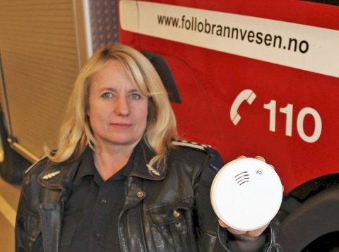 Janne Hovdenak,avdelingsleder forebyggende arbeid i Follo Brannvesen.