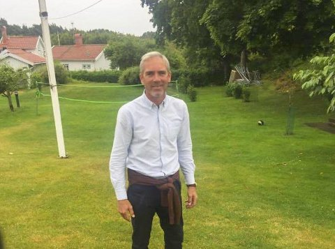 Byfotball: Leder for Risør Fotballklubb Christian Axelsen gleder seg til å fylle torvet med fotballinteresserte barn og ungdommer.Foto: Privat