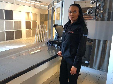 Butikksjef: Camilla Jacobsen blir butikksjef og eneste ansatte til å begynne med: – Lykkes jeg med butikken vil det bli alt for mange arbeidsoppgaver å holde styr på alene. Målet på sikt må derfor være å utvide med flere ansatte.