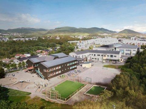 Etter mye debatt og stor skepsis fra både foreldre og politikere, vedtok bystyret at Bodøsjøen skole skulle utvides med modulbygg.