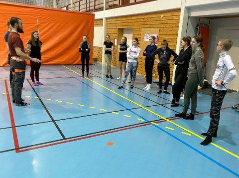 Unikt tilbud: Som den eneste videregående skolen i landet kan Knut Hamsun vgs. tilby elevene å gå friluftslivsfag. Tilbudet har svært god søkning i år.
