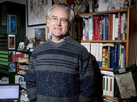 Gunnar Staalesen har deltatt i redaksjonen til «Kraftverk» siden oppstarten av tidsskriftet i 2002. Arkivfoto: ARNE RISTESUND