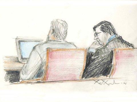 Mannen som er tiltalt for drapet på Borgar Giil Andresen forklarer seg i Kongsberg og Eiker tingrett denne uken.