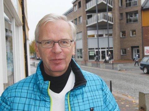 NR. 12: Helge Chr. Aaby er kandidat nummer 12 på Høyres liste i Øvre Eiker.