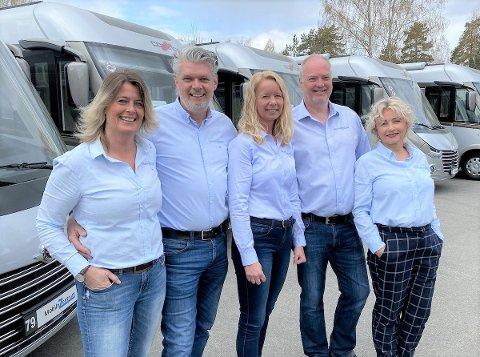 PÅ TOPP: Mobile-Zentrum familien er svært fornøyd med resultatet i 2020.