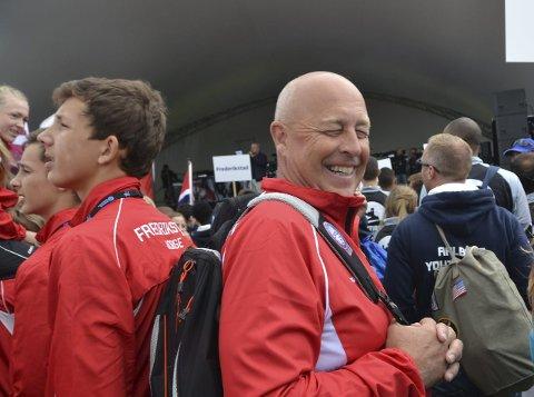 TILFREDS: Tom Hermansen stortrives i Aalborg.