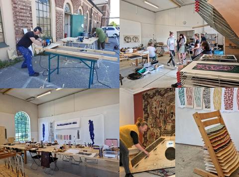 - Hensikten med dette eksperimentelle verkstedet og denne kommende utstillingen ved No13 Contemporary er å vise prosesser og hvordan kollegialt samarbeide kan være faglig utviklende, forteller  Rami Maktabi.