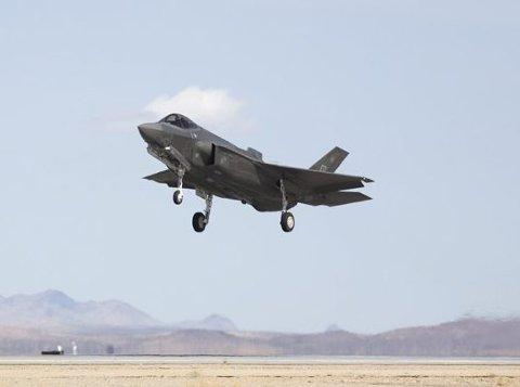 Norges nye kampfly, F-35, skal operere ut fra Evenes flystasjon.