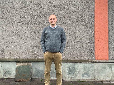 SERVICELEDER: Stefan Ivarsen har nettopp blitt ansatt som serviceleder hos Insider facility solutions.
